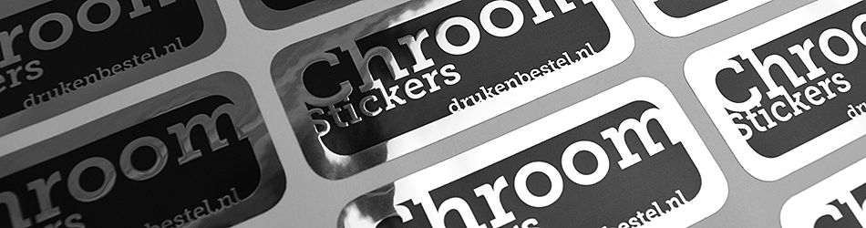 Chroom stickers